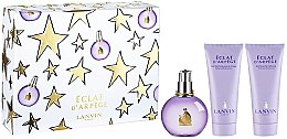 Parfumuri și produse cosmetice Lanvin Eclat D`Arpege - Set (edp 100ml + b/l 100ml + s/g 100ml)