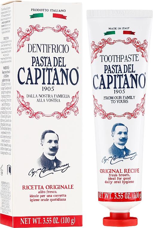 "Pastă de dinți ""Original"" - Pasta Del Capitano Original Recipe Toothpaste"