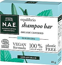 Parfumuri și produse cosmetice Șampon solid pentru păr gras - N.A.E. Equilibrio Purifying Shampoo Bar