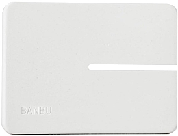 Parfumuri și produse cosmetice Мыльница маленькая, белая - Banbu Soap Holder Mini White
