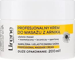 """Parfumuri și produse cosmetice Cremă pentru masaj """"Arnică"""" - Lirene Professional Massage Cream"""