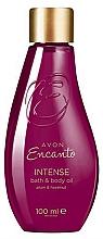 Parfumuri și produse cosmetice Avon Encanto Intense Bath & Body Oil - Ulei hidratant pentru baie