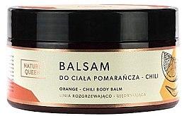 """Parfumuri și produse cosmetice Balsam pentru corp """"Portocală și Chile"""" - Nature Queen Body Balm"""