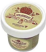 Parfumuri și produse cosmetice Mască-scrub cu căpșuni și zahăr negru pentru față - Skinfood Black Sugar Strawberry Mask Wash Off