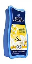 Parfumuri și produse cosmetice Odorizant gel - Felce Azzurra Gel Air Freshener Vanilla & Monoi