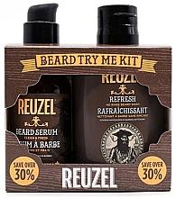 Parfumuri și produse cosmetice Set - Reuzel Clean & Fresh Beard Try Me Kit (serum/50g + shampoo/100ml )