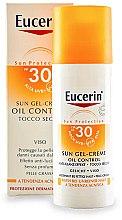 Parfumuri și produse cosmetice Cremă de protecție pentru pielea predispusă la acnee SPF30 - Eucerin Sun Gel-Cream Oil Control SPF30
