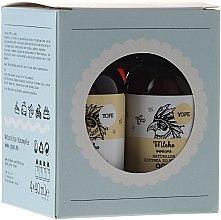 Parfumuri și produse cosmetice Set - Yope Verbena (h/balm/40ml + sh/gel/40ml + shm/40ml + cond/40ml)