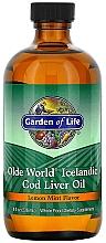 Parfumuri și produse cosmetice Ulei de ficat de cod, cu aromă de lămâie și mentă - Garden of Life Olde World
