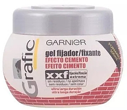 Parfumuri și produse cosmetice Gel de păr - Garnier Grafic Cement Effect Fixing Gel