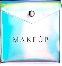 """Parfumuri și produse cosmetice Trusă cosmetică """"Holographic"""", 12x12cm, transparentă - MakeUp"""