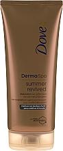 Parfumuri și produse cosmetice Loțiune bronzantă pentru corp - Dove Derma Spa Summer Revived Medium To Dark Skin Body Lotion