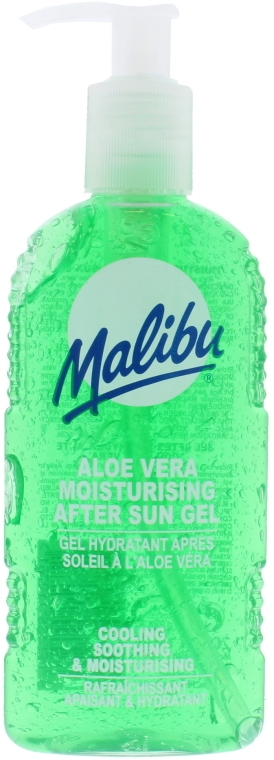 Gel de corp după bronzare cu aloe vera - Malibu After Sun Gel Aloe Vera — Imagine N2