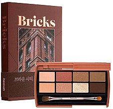 Parfumuri și produse cosmetice Paletă farduri de ochi - Heimish Dailism Eye Palette Brick Brown