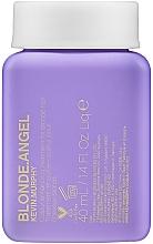 Parfumuri și produse cosmetice Balsam nuanțator pentru păr blond - Kevin.Murphy Blonde.Angel Hair Treatment (mini)