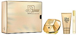 Parfumuri și produse cosmetice Paco Rabanne Lady Million - Set (edp/50 + b/lot/75ml + edp/10ml)