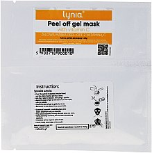 Parfumuri și produse cosmetice Mască cu vitamina C pentru față - Lynia Peel Off Gel Mask Vitamin C