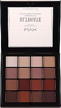 Parfumuri și produse cosmetice Paletă fard de pleoape - Nyx Professional Makeup Ultimate Shadow Palette