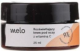 Parfumuri și produse cosmetice Cremă cu vitamina C pentru zona ochilor - Melo
