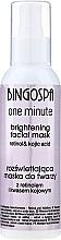 Parfumuri și produse cosmetice Mască de față - BingoSpa