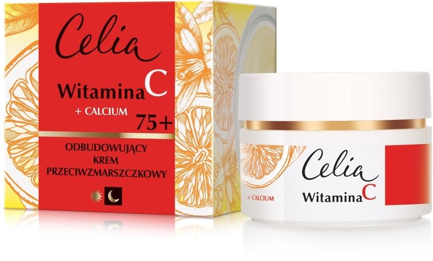 Cremă de față anti-rid, de zi și noapte 75+ - Celia Witamina C