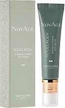 Parfumuri și produse cosmetice Cremă antirid pentru pielea din jurul ochilor - Oriflame NovAge Ecollagen Wrinkle Power Eye Cream