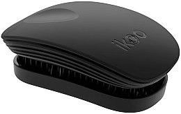Parfumuri și produse cosmetice Pieptene pentru păr - Ikoo Pocket Black Brush