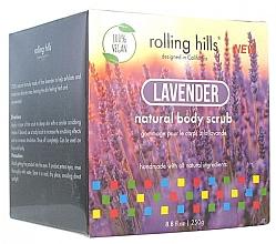 """Parfumuri și produse cosmetice Scrub pentru corp """"Lavandă"""" - Rolling Hills Gommage Corps Naturel"""