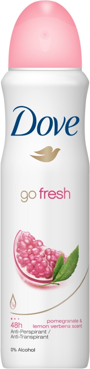 "Deodorant antipersperant ""Rodie și Lămâie"" - Dove Go Fresh Pomegranate & Lemon Deo"