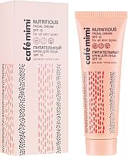 Parfumuri și produse cosmetice Cremă de față - Cafe Mimi Nutritious Facial Cream Spf 15