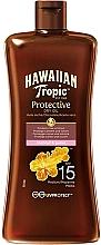 Parfumuri și produse cosmetice Ulei uscat protecție solară SPF 15 - Hawaiian Tropic Protective Oil SPF 15
