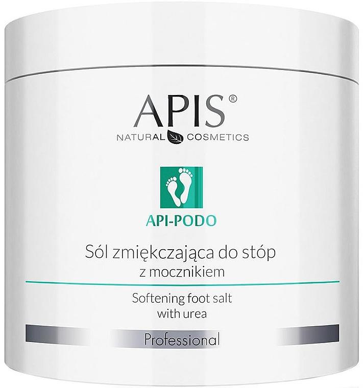 Sare cu uree și efect de înmuiere - Apis Professional Api-Podo Softening Foot Salt With Urea