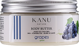 Parfumuri și produse cosmetice Masło do ciała Greckie winogrona - Kanu Nature Greek Grape Body Butter