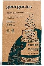 """Parfumuri și produse cosmetice Tablete pentru igiena orală """"English Mint"""" - Georganics Natural Toothtablets English Peppermint (rezervă)"""
