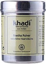 """Parfumuri și produse cosmetice Praf de plante pentru păr """"Ritha"""" - Khadi Reetha Pulver"""
