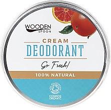 Parfumuri și produse cosmetice Deodorant-cremă - Wooden Spoon Go Fresh Cream Deodorant