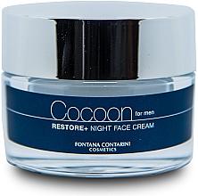 Parfumuri și produse cosmetice Cremă de față pentru bărbați - Fontana Contarini Cocoon Restore+ Night Face Cream