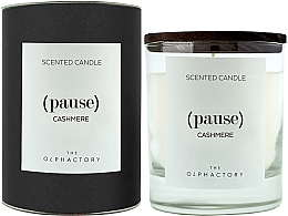"Parfumuri și produse cosmetice Lumânare parfumată ""Cașmir"" - Ambientair The Olphactory Pause Cashmere Black Design"