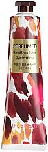 """Parfumuri și produse cosmetice Cremă nutritivă pentru mâini """"Trandafir"""" - The Saem Perfumed Garden Rose Hand Shea Butter"""