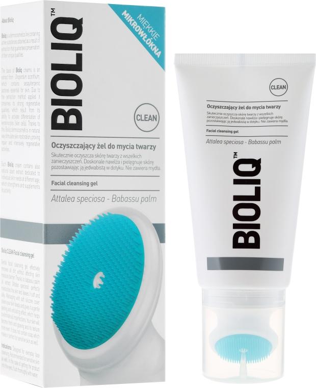 Gel de curățare pentru față cu pensulă - Bioliq Clean Cleansing Gel