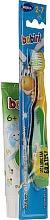 Parfumuri și produse cosmetice Set (pastă de dinți+periuță galben-verde) - Bobini 2-7 (toothbrush + toothpaste/75ml)