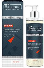 Parfumuri și produse cosmetice Gel de spălare pentru față - Bielenda Professional SupremeLab For Men