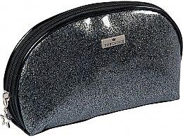 """Parfumuri și produse cosmetice Trusă cosmetică """"Glitter"""", 97935, neagră - Top Choice"""