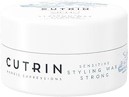 Parfumuri și produse cosmetice Ceară pentru fixare puternică fără parfum - Cutrin Vieno Sensitive Styling Wax Strong