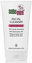 Parfumuri și produse cosmetice Gel de spălare pentru ten normal și uscat - Sebamed Facial Cleanser For Normal & Dry Skin
