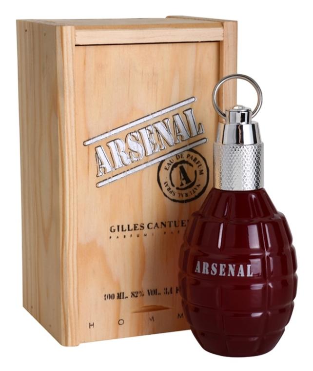 Gilles Cantuel Arsenal Red - Apă de parfum — Imagine N4
