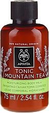 """Parfumuri și produse cosmetice Lapte hidratant de corp """"Ceai tonifiant de munte"""" - Apivita Tonic Mountain Tea Moisturizing Body Milk"""