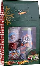 Parfumuri și produse cosmetice Set - Uroda For Kids Hot Wheels (sh/gel/250ml + edt/50ml + stickers)