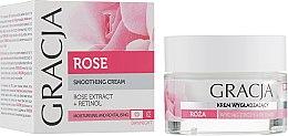 Parfumuri și produse cosmetice Cremă hidratantă pentru față cu extract de trandafir - Miraculum Gracja Rose Face Cream