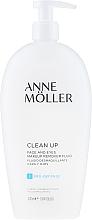 Parfumuri și produse cosmetice Fluid pentru demachiere - Anne Moller Pro-Defense Makeup Remover Fluid Face and Eyes